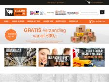 Screenshot van de website van Betaalbaarshoppen