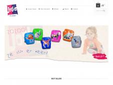 Screenshot van de website van Josje's Closet