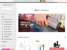 Screenshot van de website van 123 Accessoires
