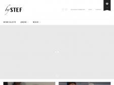 Screenshot van de website van By Stef