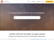 Screenshot van de website van Munazzo
